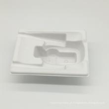 Suporte de copo de papel do café da bandeja da polpa de papel