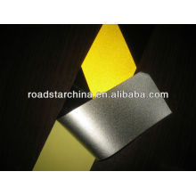 Commercial grade reflective slant stripe tape