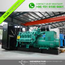 Generador DIESEL silencioso de 1600KVA con motor Googol para alimentación en espera