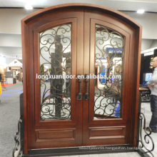 wrought iron entrance door, wrought iron fence panels