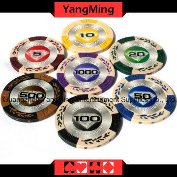 유럽 클레이 포커 칩 (YM-CY01)