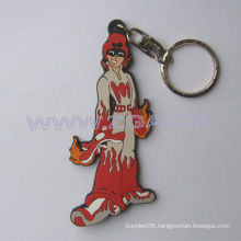 Soft pvc / rubber keychain- key accessories