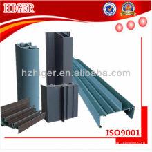 Perfil de aluminio de extrusión 6063 T6