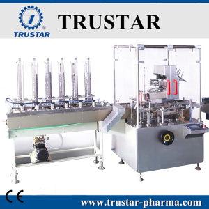Condom Cartoning Machine for Single piece
