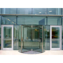 Manual Crystal Revolving Door