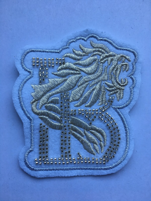 Crystal Embroidery Patch