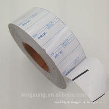 Thermopapiermaterial Linerless-Etikettenrolle mit niedrigerem Preis