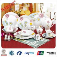 China Supplier Factory produit 60pcs Dinner Set / Dinner Plate Designs / Ikea Dinnerware Sets