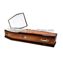 European MDF coffin funeral supplies