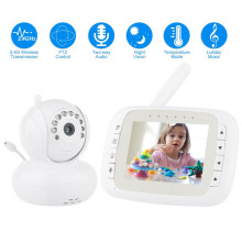 Moniteur de bébé sans fil HD Pan Tilt Night Vision