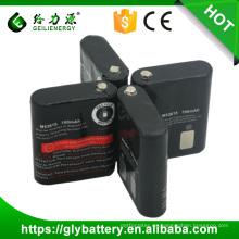 Batería al por mayor de NICD AA 700mAh 3.6V para la radio portátil MOTOROLA