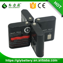 Wholesale NICD AA 700mAh 3.6V Battery Pack For Portable Radio MOTOROLA