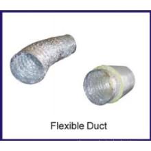 conducto de aire de aluminio sin aislamiento