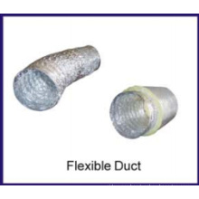 non-insulated aluminum air duct
