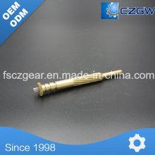 Малогабаритный шлиц для латунной передачи высокой точности для различных машин