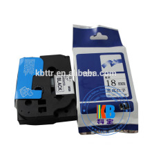 Fita cassetes compatível TZ-231 12mm fita etiqueta de impressora