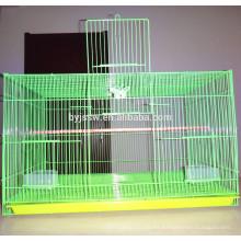 Jaula de alimentador de pájaros redonda portátil económica