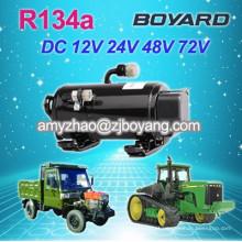 dorminhoco de caminhão com R134a 24v dc compressor rotativo Auto ac compressor