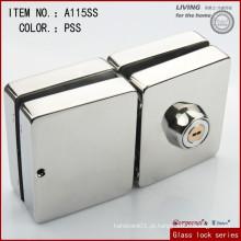 Bloqueio de porta de vidro duplo de correr quadrado / Bloqueio de porta de vidro duplo de alta qualidade
