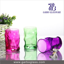 12oz Color Sprayed Glass Cup (GB062012-P)