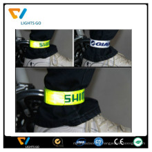 Cheap reflective leg band reflective ankle band bracelets crafts