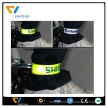 Barato faixa reflexiva banda tornozelo reflexivo pulseiras pulseiras de artesanato