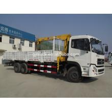 Grúa montada camión de la grúa del camión de Dongfeng 6x4 con capacidad de carga 8-16t