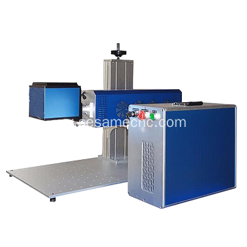 Clothing Marking Brand CO2 Laser Machine for Jeans