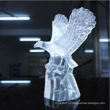 Кристалл Животных Орел Статуя Фигурка Офис Украшения Кристалл Ремесла