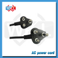 SABS ROHS 1.8m 3 pin South africa power cord with IEC plug