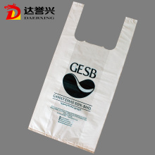 T Shirt Plastic Shopping Handle Carry Bag