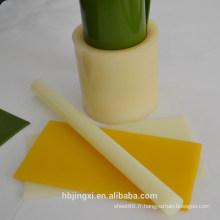 Feuille en plastique ignifuge d'unité centrale / tige / petit pain