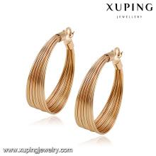 92786 - Xuping новая мода золото люстра серьги