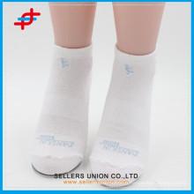 Plain White Elite Basketball en gros Custom Dri Fit chaussettes