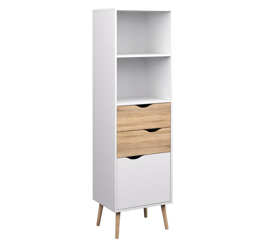 High bookcase fancy design