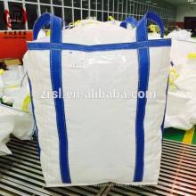 Bolsas de toneladas de polipropileno grandes bolsas para barita en polvo, la extracción de bolsas de elevación cruzan bucles de esquina