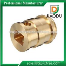 Metal de alta precisão do bronze CNC que trabalha o metal que gira peças