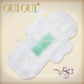 High quality breathable lady soft feminine sanitary pads with wings