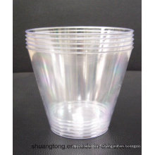 9oz Tumbler Party Essentials Hard Plastic Party Cups / Old Fashioned Tumblers, Clear