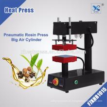 Pressão de calor automática profissional produz pressão pneumática máquina de pressão de colofónia