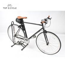 Precio bajo italiano Eco-renovable 700C bicicleta de velocidad única fijo bicicleta eléctrica del camino del engranaje
