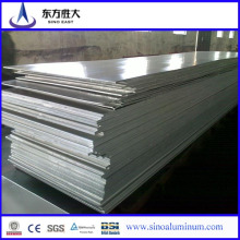 Caliente vendiendo cepillado hojas de aluminio de sublimación con alta calidad 5052 Marino grado hoja de aleación de aluminio