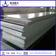 Feuilles en aluminium à sublimation brossée à la vente chaude avec une feuille d'alliage d'aluminium de qualité marine 5052 de haute qualité