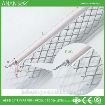 Proteção de parede de chão galvanizado em chapa de metal ângulo de ângulo cantos talão