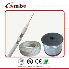 Cable coaxial RG 6 con alta calidad y mejor precio