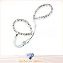 Anillo de la plata esterlina de la joyería popular y de la manera 925 (R10414)