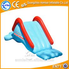 Tubos de toboganes acuáticos usados, tobogán de agua inflable pequeño para niños