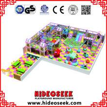 Centre de jeux intérieur de la série Candy House pour centre de loisirs