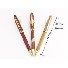 Pluma de madera del metal de moda del diseño para los regalos promocionales Tc-Q007b