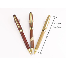 Модный дизайн металлический деревянная ручка для рекламных подарков ТК-Q007b